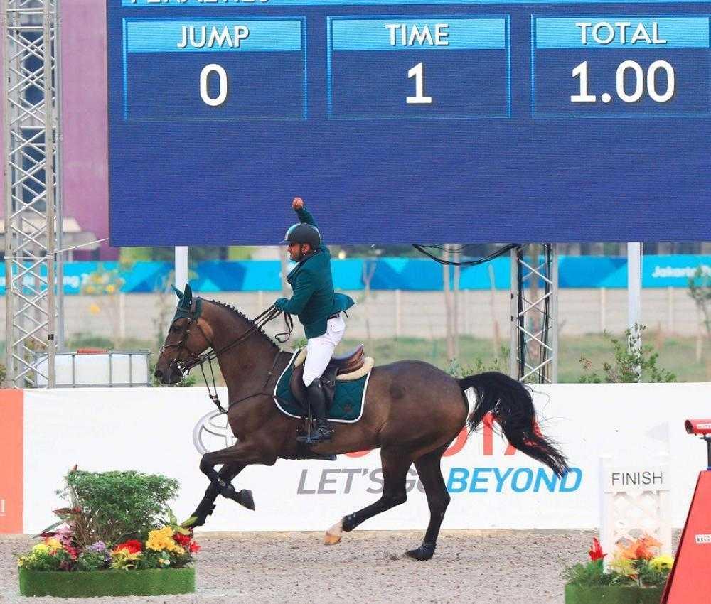 Kingdom clinches gold at Jakarta Asiad