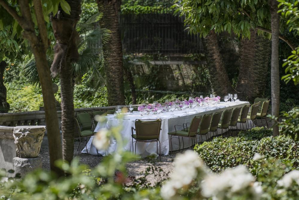RFH DER - MEETINGS & EVENTS - Terrazza Sergej tavolo imperiale