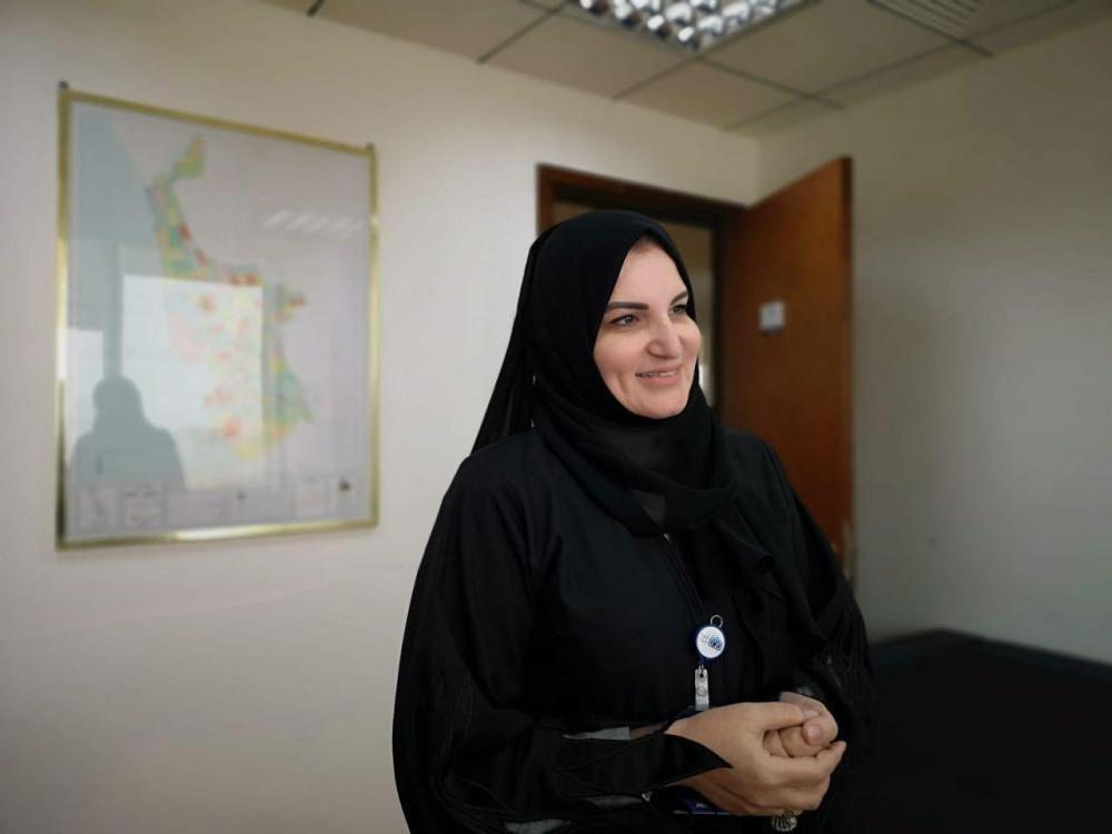 Amani Mahmoud, supervisor of central municipalities