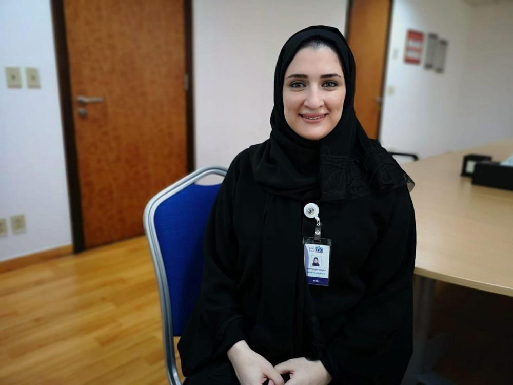 Mariam Abualenain, head of women municipality branch