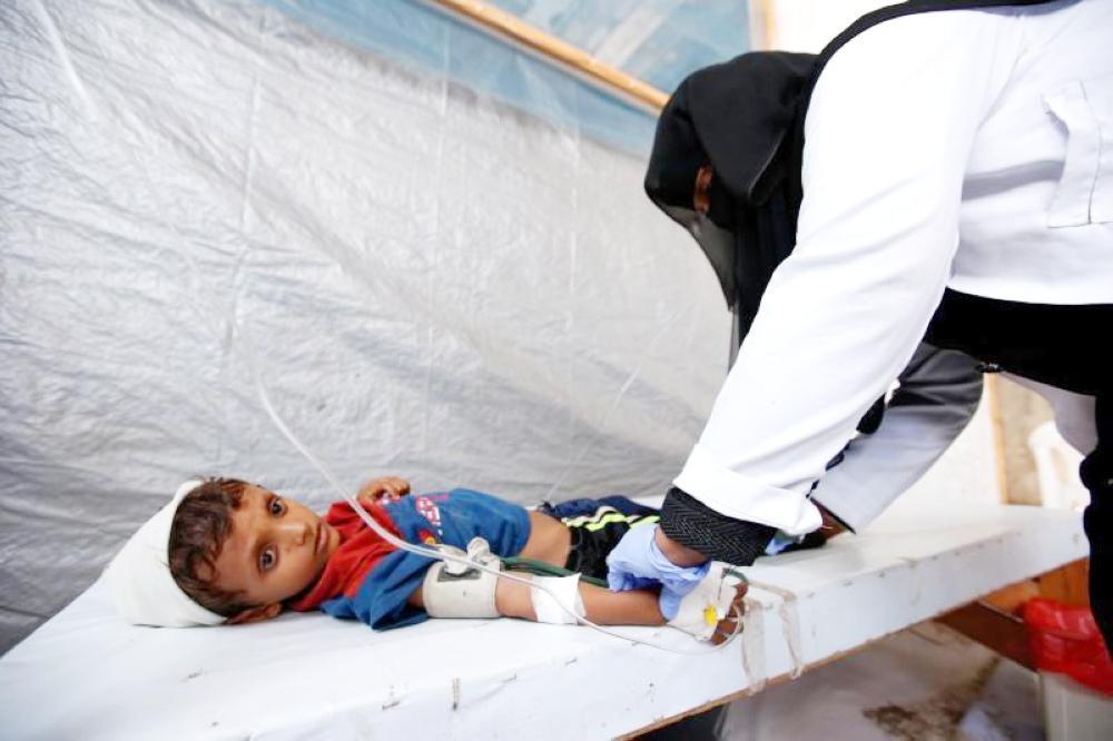 Yemen is facing fears of cholera spread.