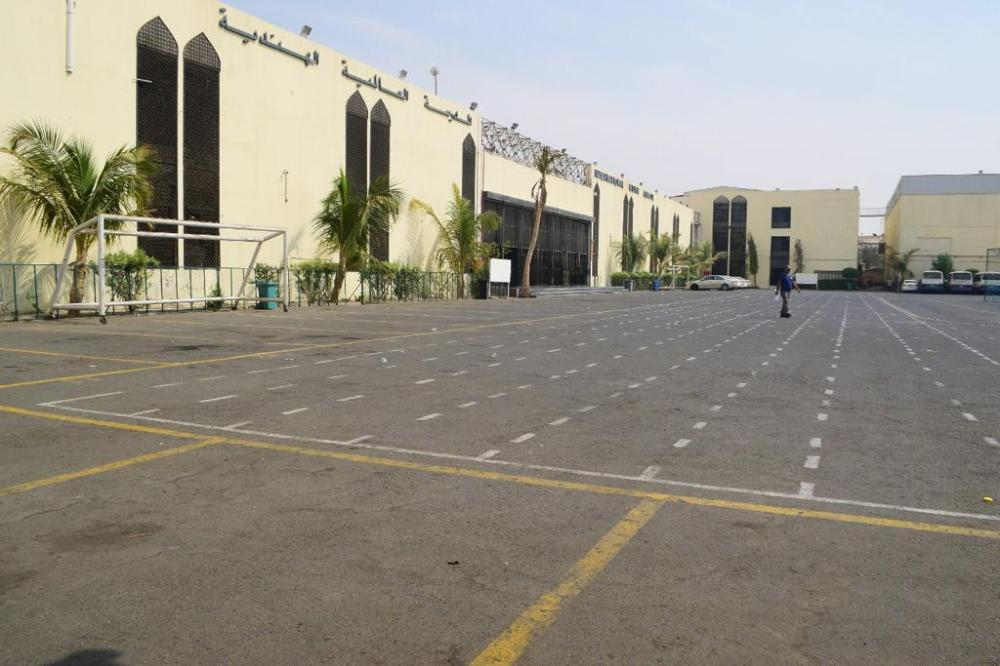 The students of the International Indian School Jeddah wear a gloomy look after the news of vacating the campus was announced at the school auditorium on Thursday.