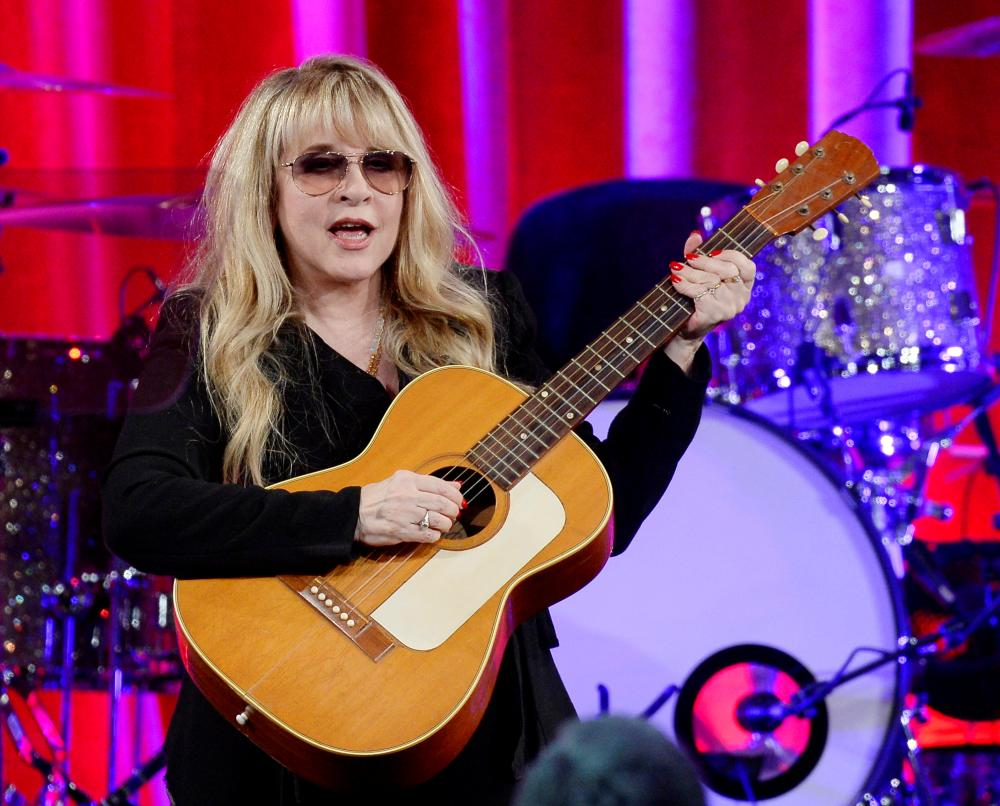 Songwriter and musician Stevie Nicks. — Reuters