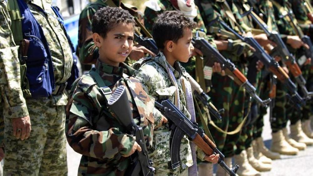 The children are trained to use light, medium and heavy weapons and then deployed on battlefronts. — File photo