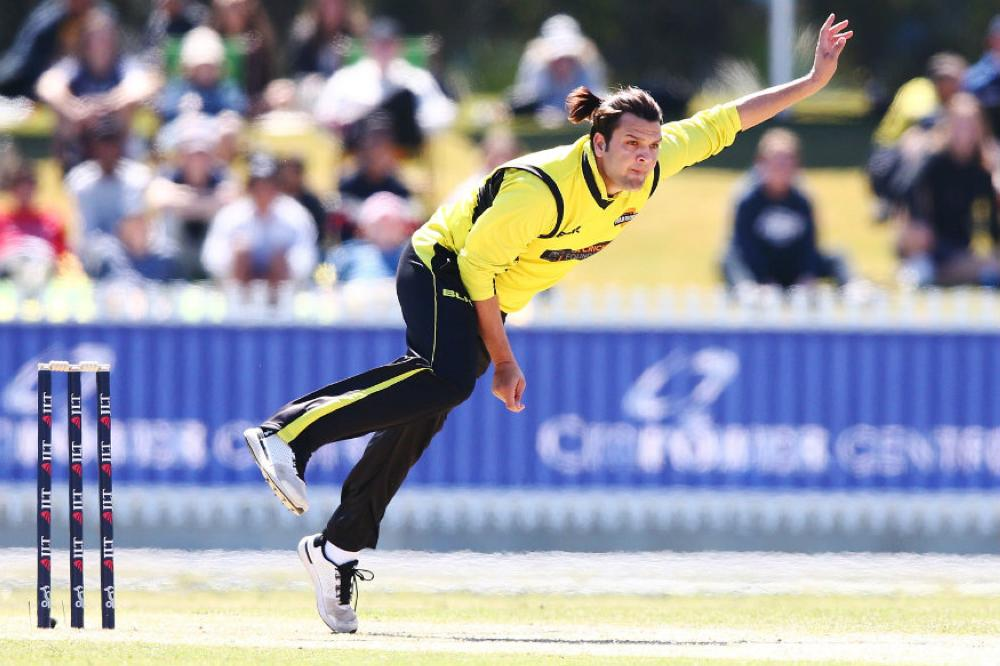 Usman Qadir, the son of Pakistan spin-bowling great Abdul, was named in a Prime Minister's XI to face South Africa on Friday.