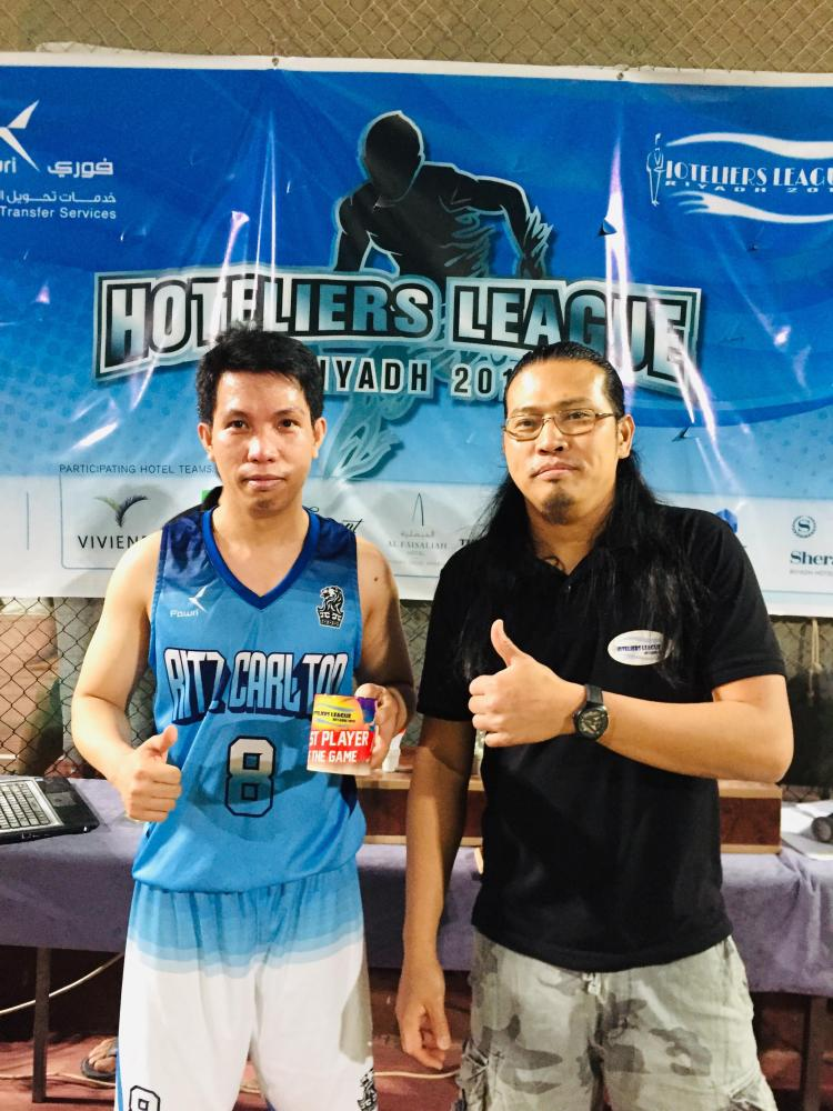 Player of the Game Julius Abalos