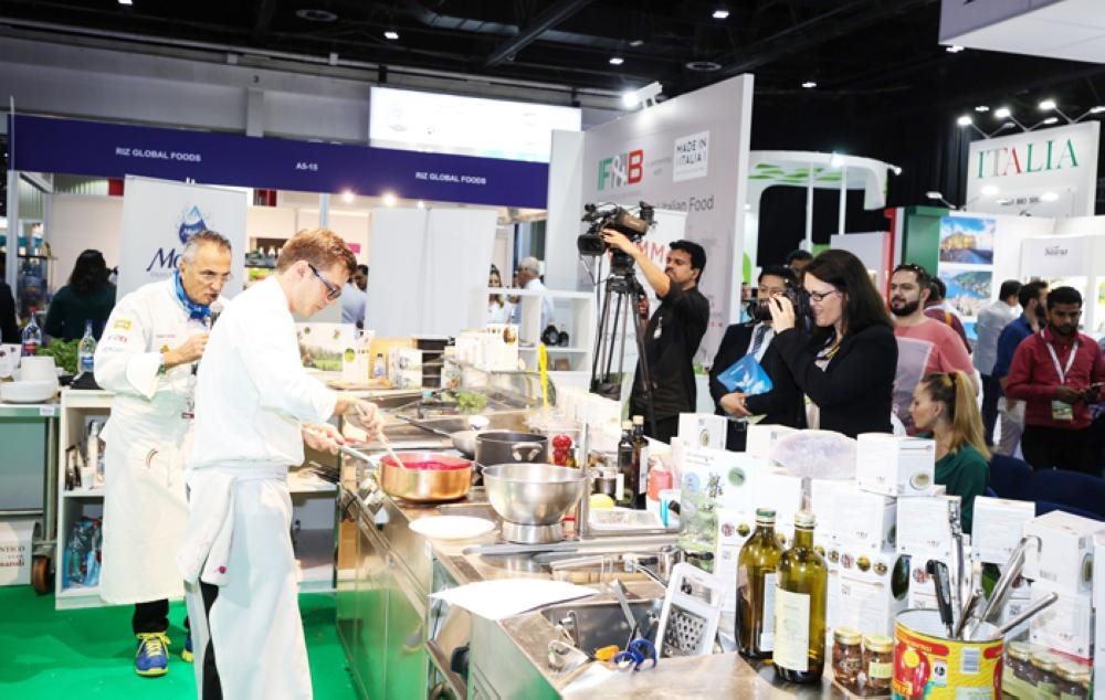 It's all on the table for star chefs at DWTC