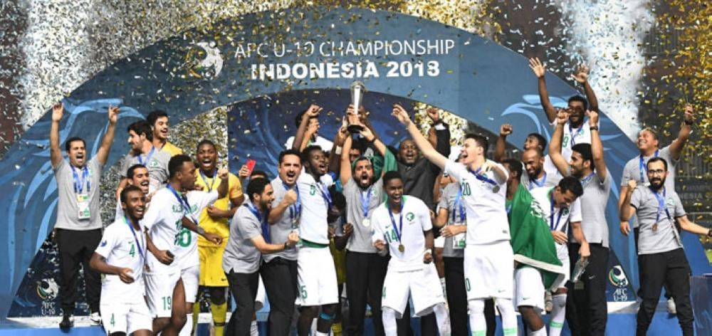 2018 champions Saudi Arabia