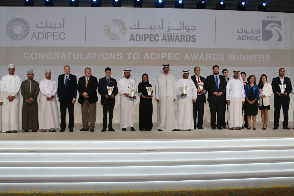 The 2018 ADIPEC Award Winners