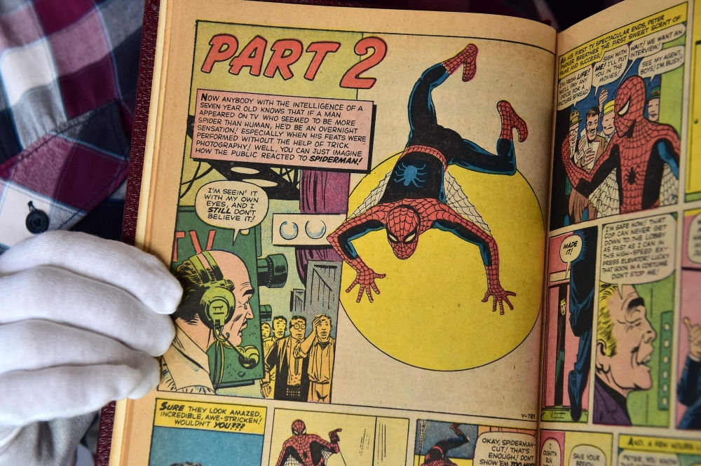 A custom bound one-of-a-kind hardcover book that includes the first 10 issues of The Amazing Spider-Man,