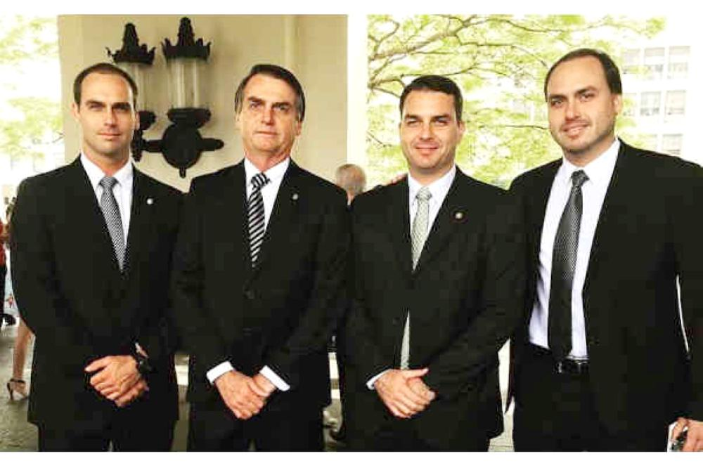 With Jair Bolsonaro president-elect, and his three sons in elected office — Flavio in the Senate, Eduardo in the Congress and Carlos on Rio de Janeiro's city council — politics in Brazil is something of a Bolsonaro family affair. — Courtesy photo