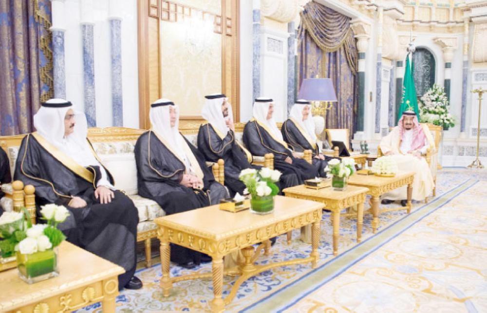 Saudi ambassadors-designate take oath of office