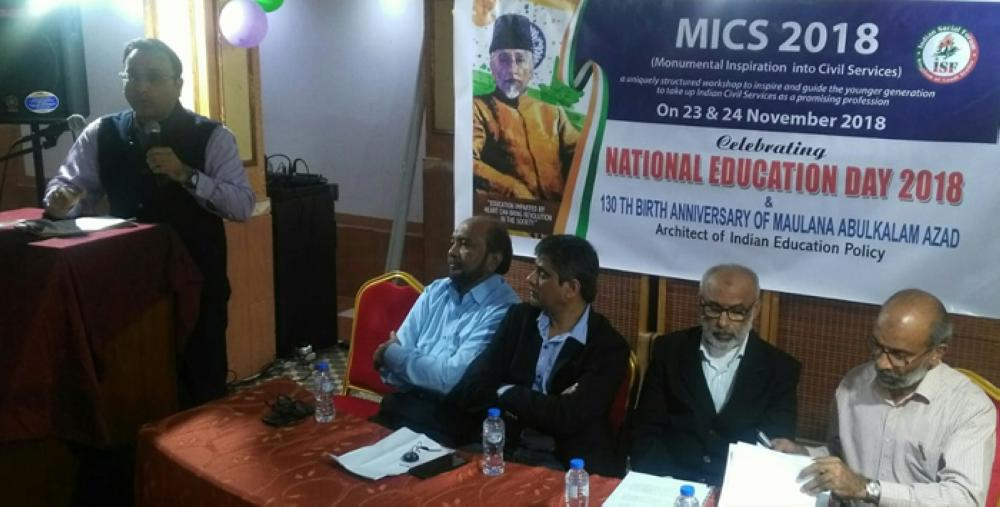 MICS Academy marks 130th birth anniversary of Maulana Azad