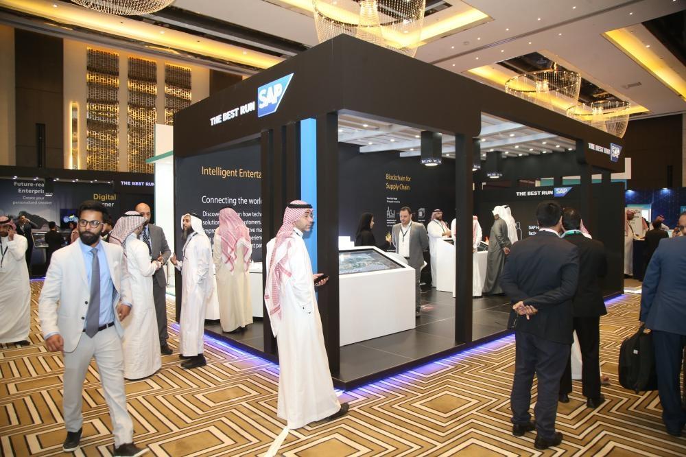 Khaled Alsaleh, Managing Director, SAP Saudi Arabia during Digital Saudi 2030