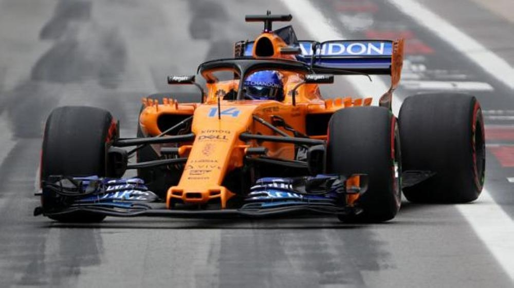 McLaren's Fernando Alonso during qualifying for the F1 Brazilian Grand Prix at the Autodromo Jose Carlos Pace, Interlagos, Sao Paulo, Brazil, in this recent photo. — Reuters
