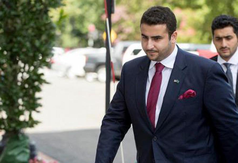 Saudi Arabia's Ambassador to the United States Prince Khalid Bin Salman