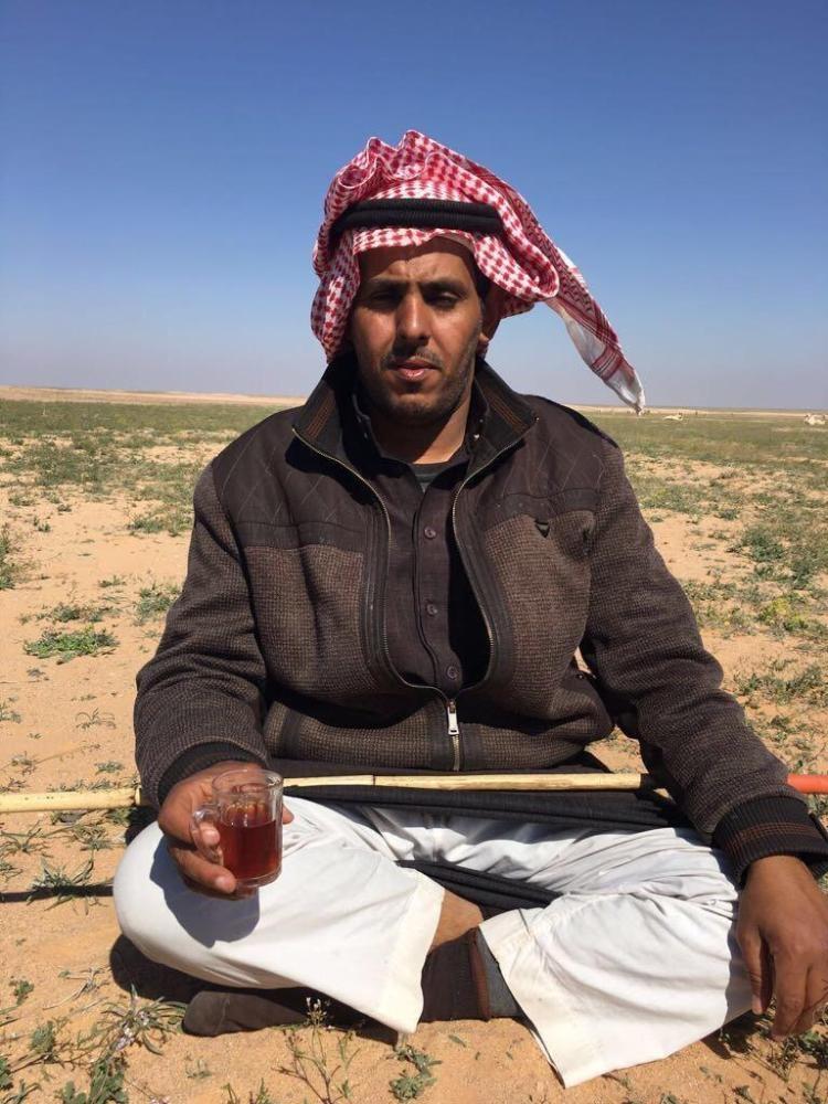 Saudi photographer Fahd Al-Osseimi who recorded the famous video that the Arab media turned into globally famous artwork.