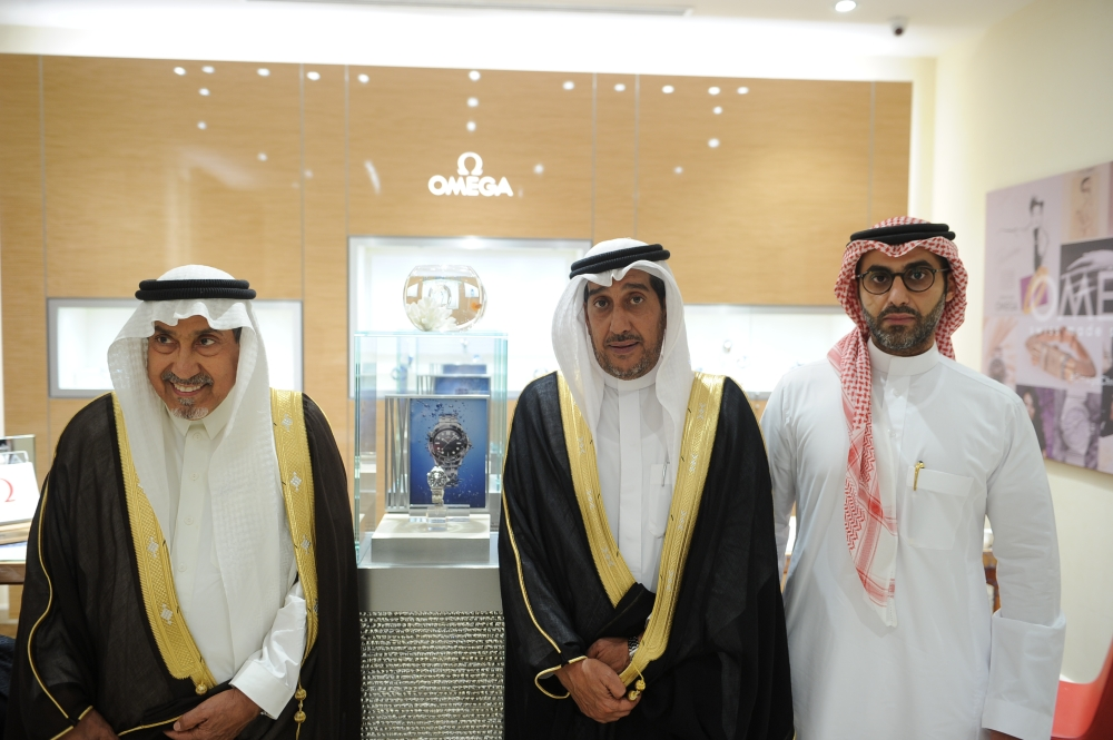 OMEGA  launch with its partner Al-Hussaini Trading Co