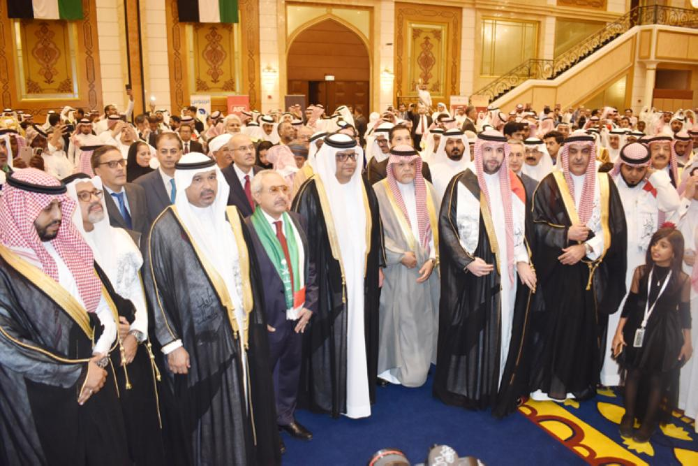Diplomats gathered at the celebration.