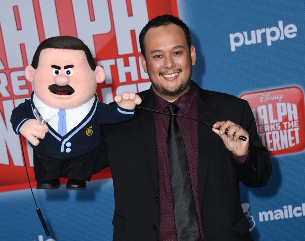 In this file photo taken on Nov. 5, 2018 animator Raymond S. Persi arrives for the Disney premiere of 'Ralph Breaks The Internet' at El Capitan theater in Hollywood. — AFP
