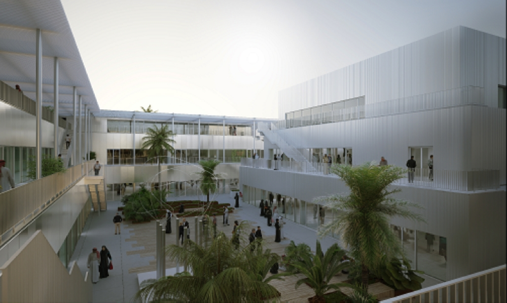 The Hayy: Creative Hub, a 17,000-square-meter development under construction in north Jeddah, is due to open in 2020.