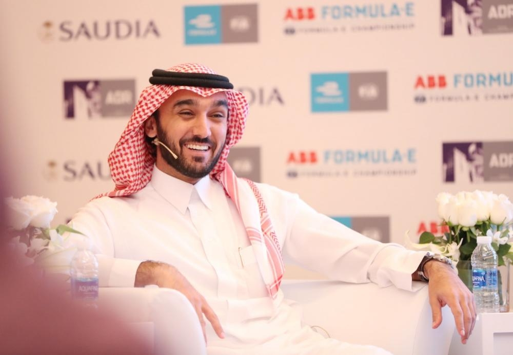Prince Abdulaziz Bin Turki AlFaisal, Vice-Chair of the Saudi Arabia General Sports Authority. — Courtesy: The General Sports Authority media office