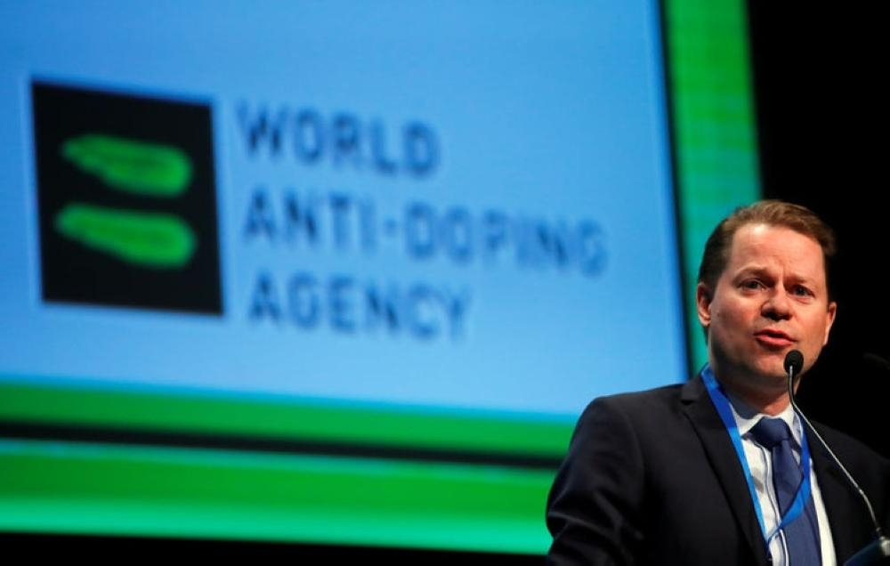Olivier Niggli, director general of the World Anti Doping Agency (WADA), attends the WADA Symposium in Ecublens, near Lausanne, Switzerland, in this file photo. — Reuters