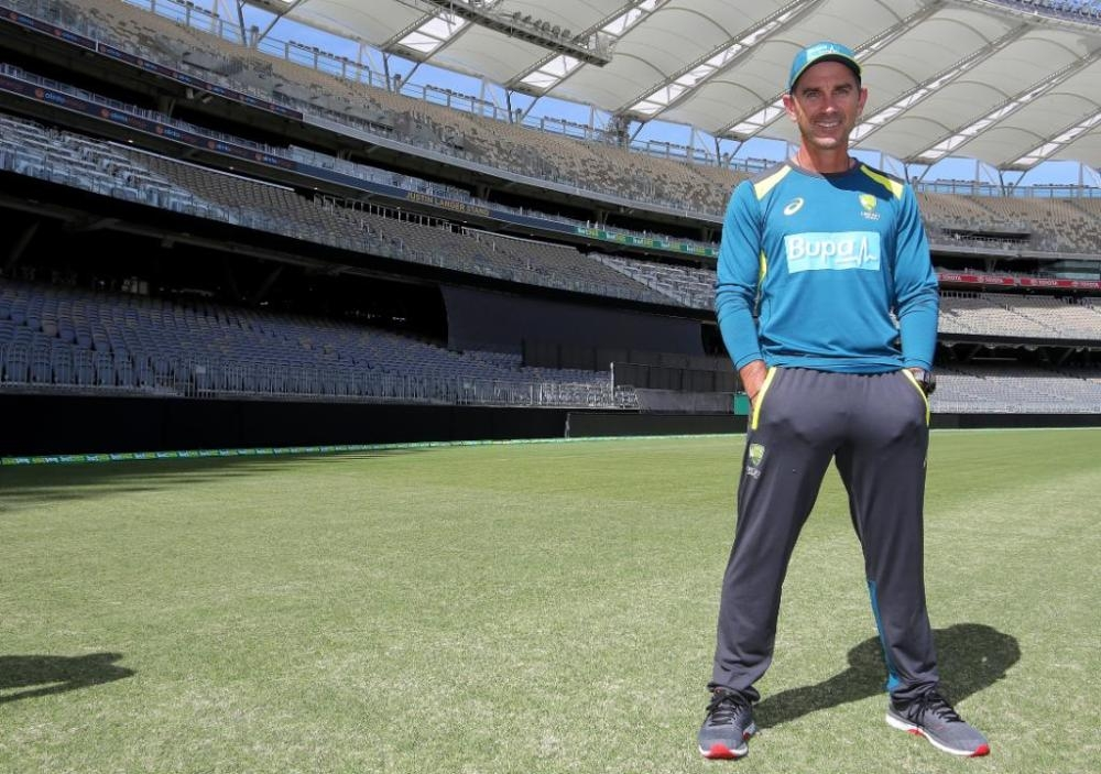 Australia coach Justin Langer at the new Perth Stadium is looking forward to the behavior of the Test pitch during the second Test against India.