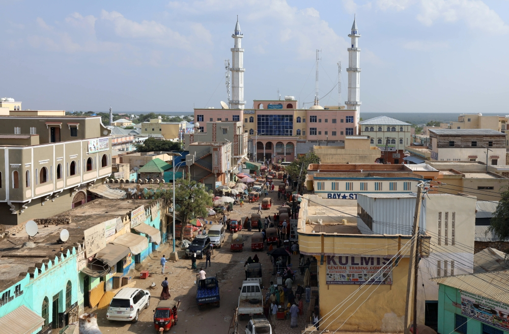 A general view shows a street in the southern city of Baidoa, Somalia, in this Nov. 3, 2018 file photo. — Reuters