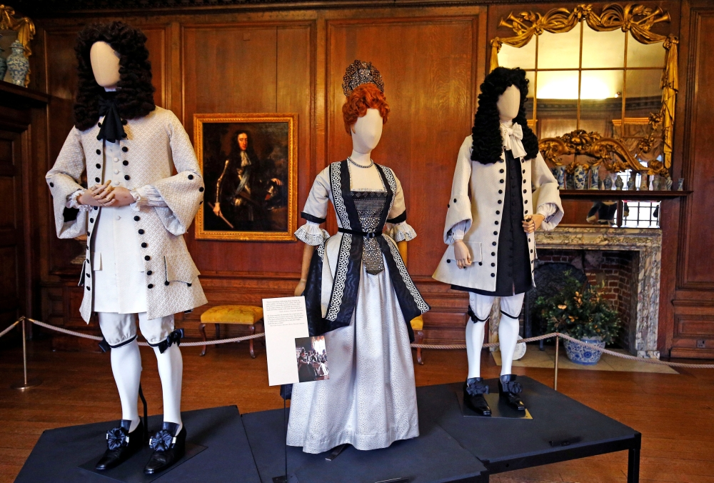 An exhibition of costumes, designed by Academy Award and BAFTA winner Sandy Powell for the movie The Favourite, opens to the public at Kensington Palace in London. — Reuters