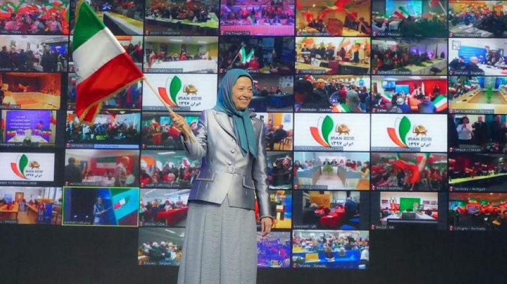 NCRI President-elect Maryam Rajavi criticized the EU for pursuing a policy of appeasement and urged the European governments to adopt a firm policy to deal with the regime. — Courtesy photo