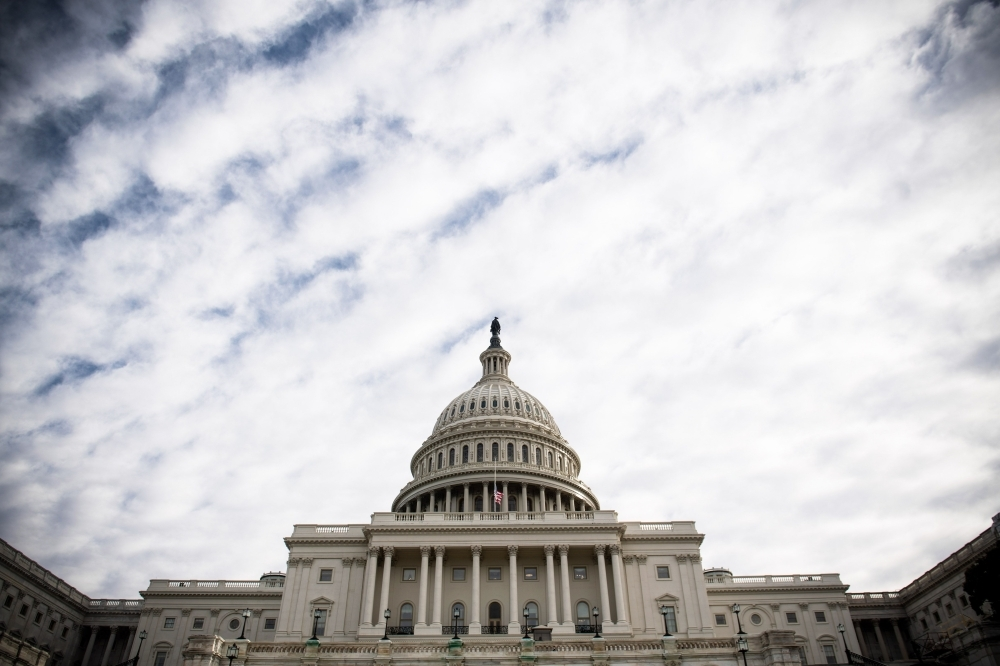 The US Capitol is seen in Washington on Monday, as the Deadline for lawmakers to agree on a new spending deal to avert shutdown on Dec. 22 approaches. — AFP