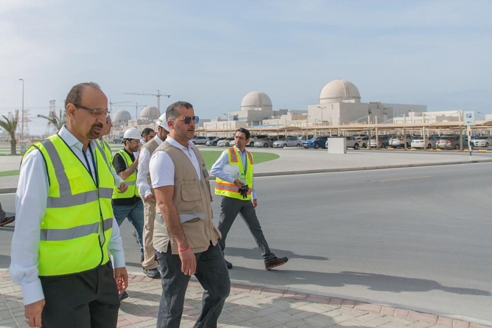 Saudi delegation visits Barakah Plant
