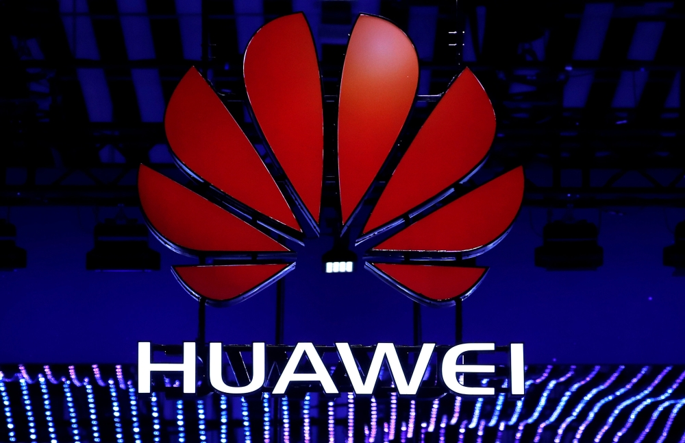 The Huawei logo is seen at the Mobile World Congress in Barcelona, Spain, in this file photo. — Reuters