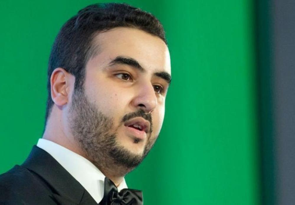 Saudi Arabia's Ambassador to the United States Khalid Bin Salman.