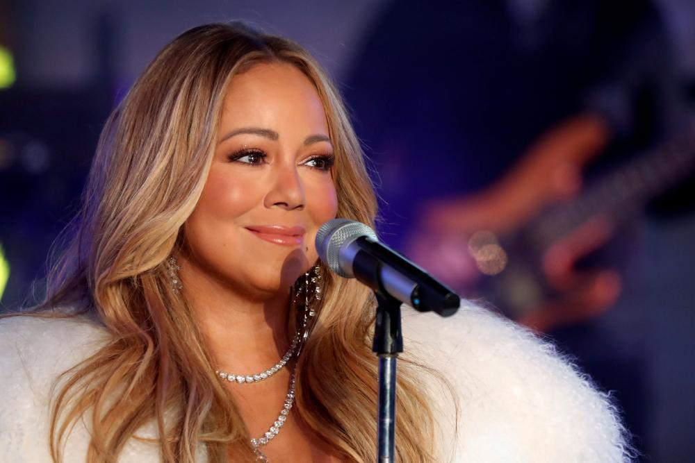 Mariah Carey performs during New Year's eve celebrations in Times Square in New York City, New York, US, in this file photo. — Reuters