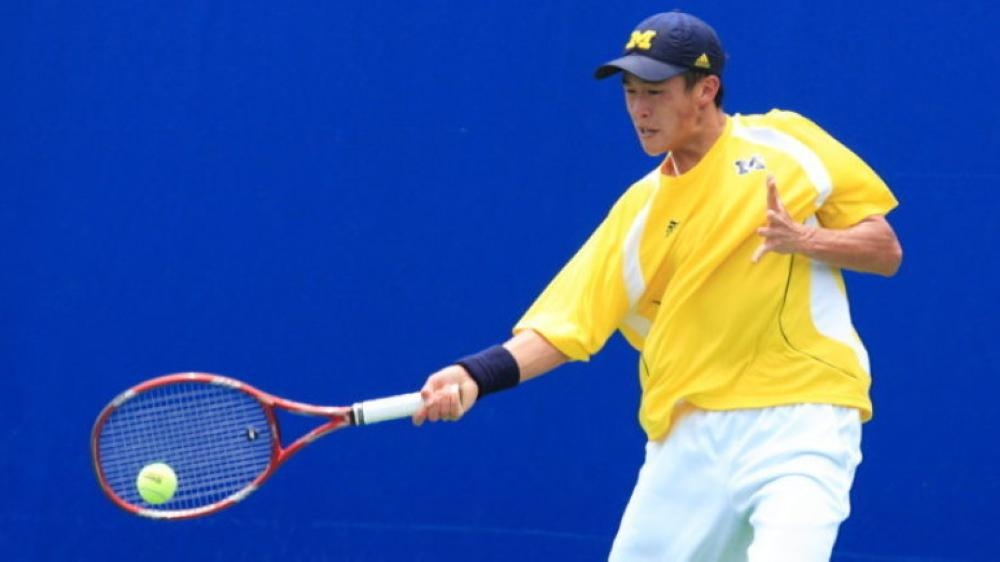 Jason Jung recorded the biggest scalp of his career when he upset Frances Tiafoe in the second round at the New York Open on Thursday.
