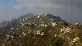 Homes and businesses atop Faifa Mountain, east of Jazan. — Photo courtesy: Andrew Leber
