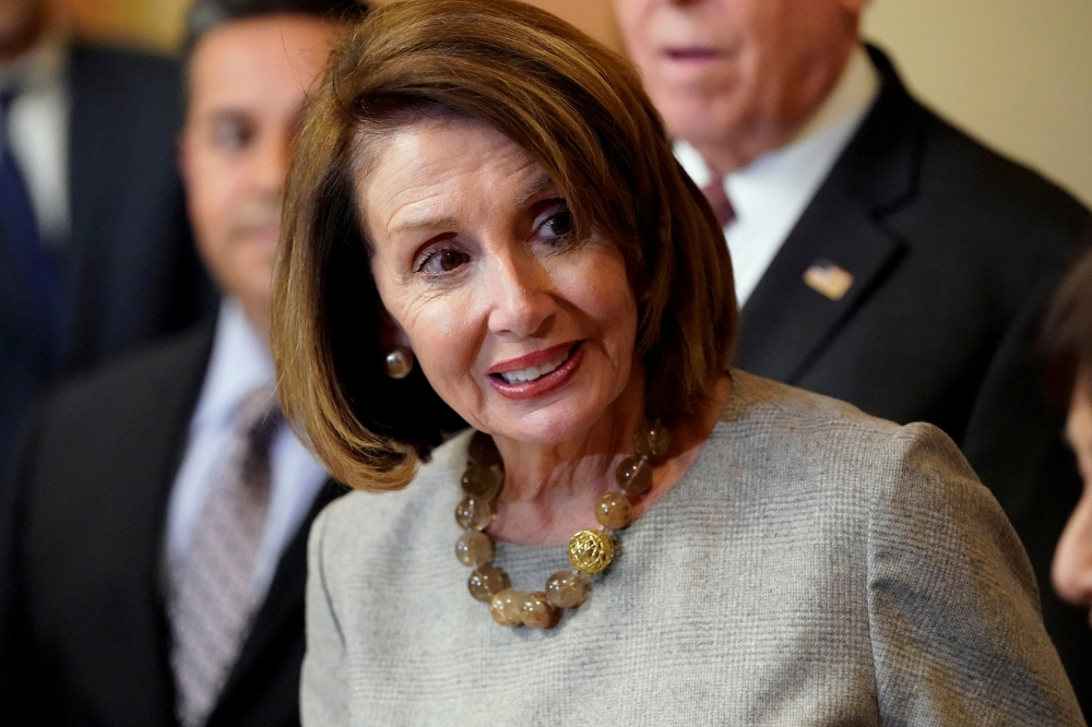 Speaker of the House Nancy Pelosi is seen on Capitol Hill in Washington in this Jan. 25, 2019 file photo. — Reuters
