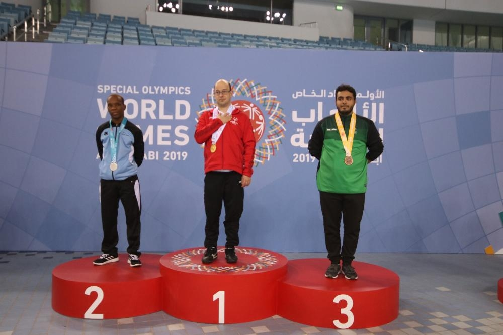 Ali Al-Qahtani — bronze in swimming