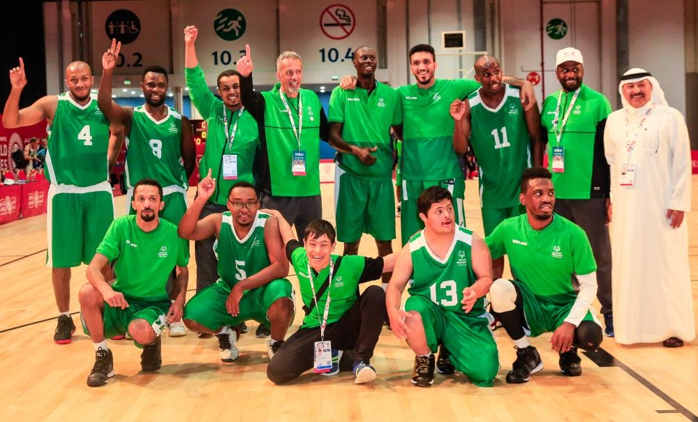 Saudi basketball team