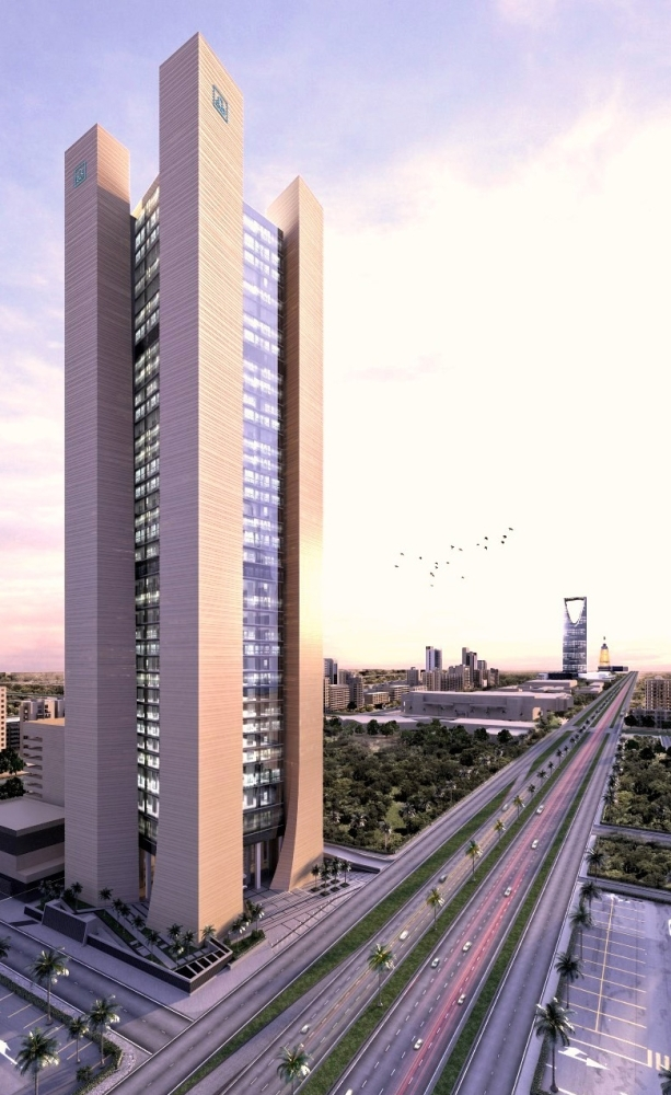 Al Rajhi Bank Tower is Saudi Arabia's national winner in three important categories. — Courtesy photo