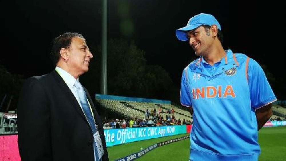 Mahendra SIngh Dhoni, the ageless Indian warhorse led Chennai Super Kings' charge to their third IPL title last year, is seen wiht Indian legend Sunil Gavaskar.