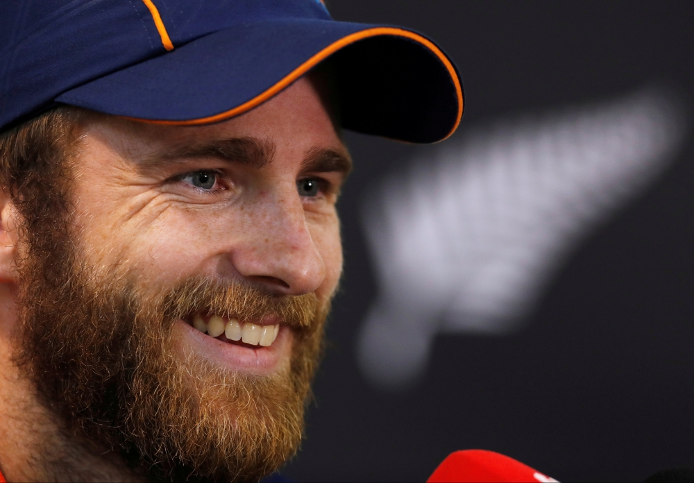New Zealand's Captain Kane Williamson talks to the media during the press conference following nets at the Hagley Oval, Christchurch, New Zealand, in this file photo. — Reuters