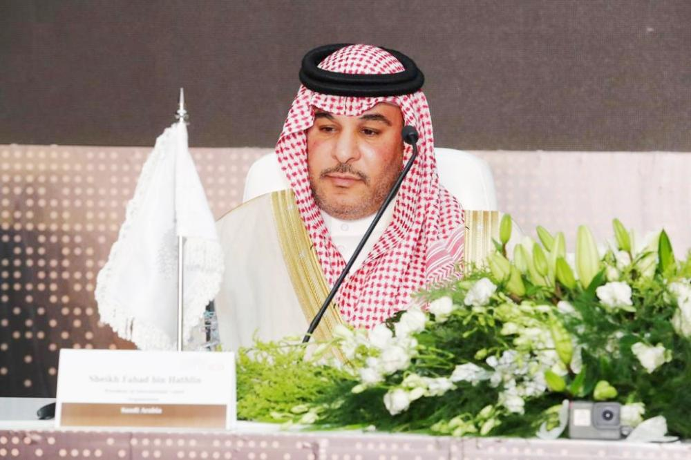 Sheikh Fahd Bin Falah Bin Hathlin, chairman of the Board of Directors of the Camels Club.