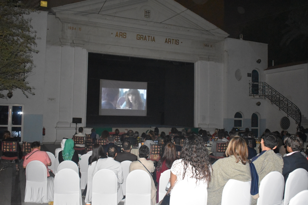 """Italian movie """"The Place"""" is being screened at the Italian Cultural Center in Jeddah."""