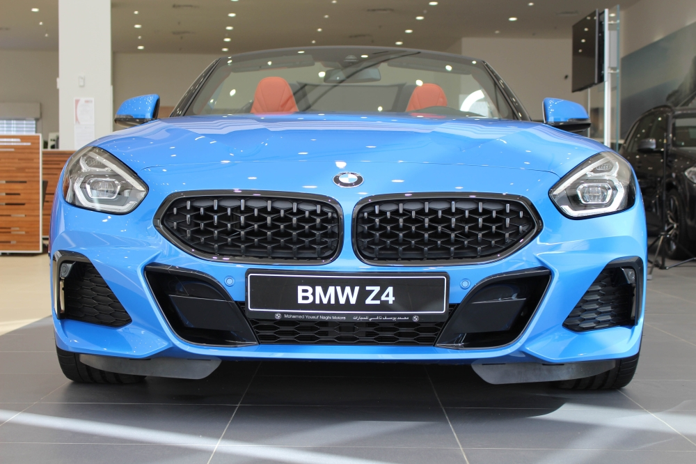 All new BMW Z4 rolled out in Saudi Arabia