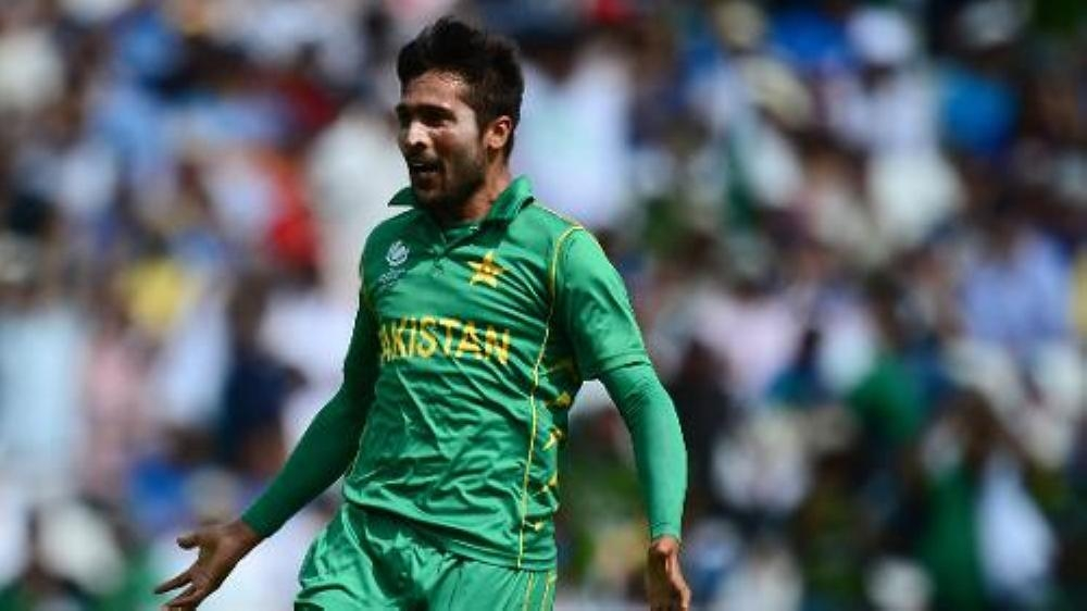 Mohammad Amir has been left out of the preliminary 15-man squad for next month's World Cup to be held in England.