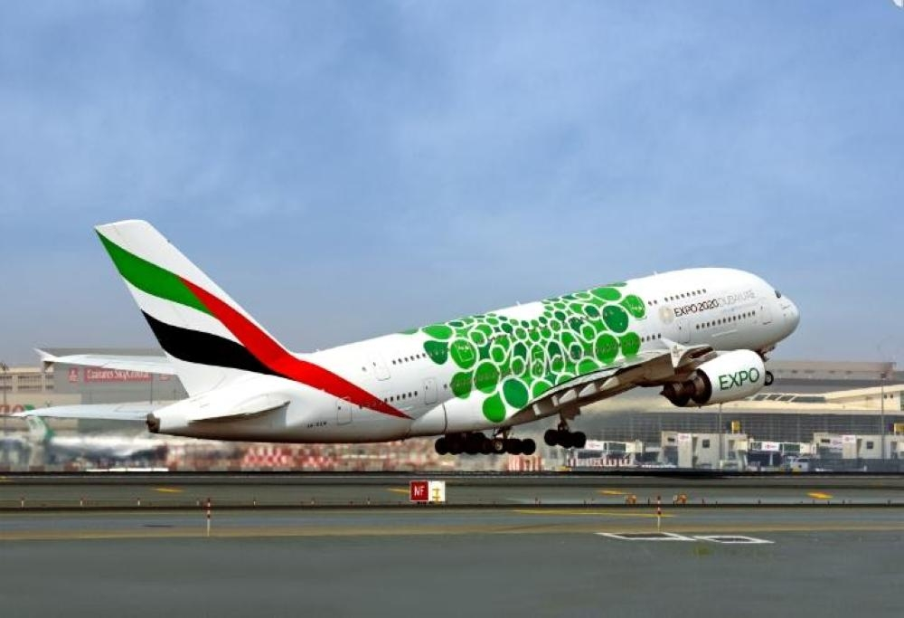 Emirates will be providing more options and choice for its customers in Riyadh with the introduction of the first scheduled Airbus A380 service to the capital city, effective April 21. — Courtesy photo