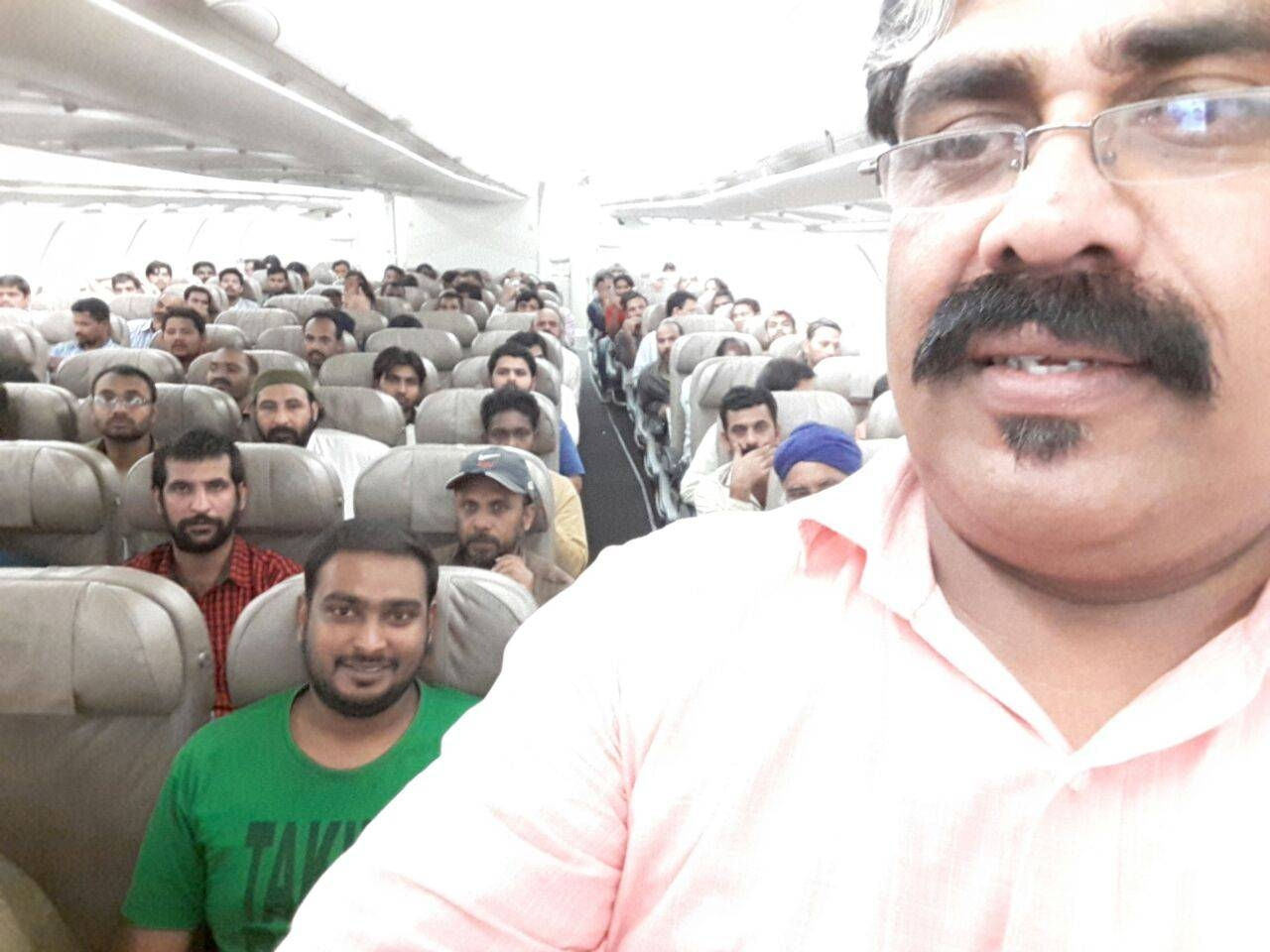 Shoukat Nass travels with a group of 150 deportees to Kochi, India.